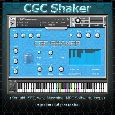 CGC Shaker (free with Subscription)