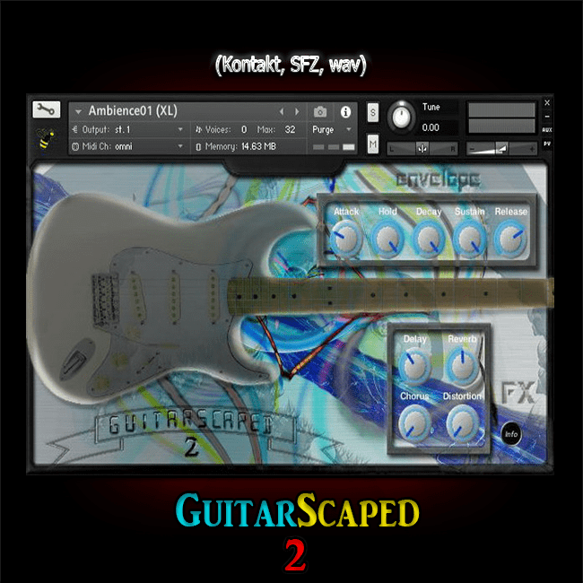 GuitarScaped 2 kontakt sfz